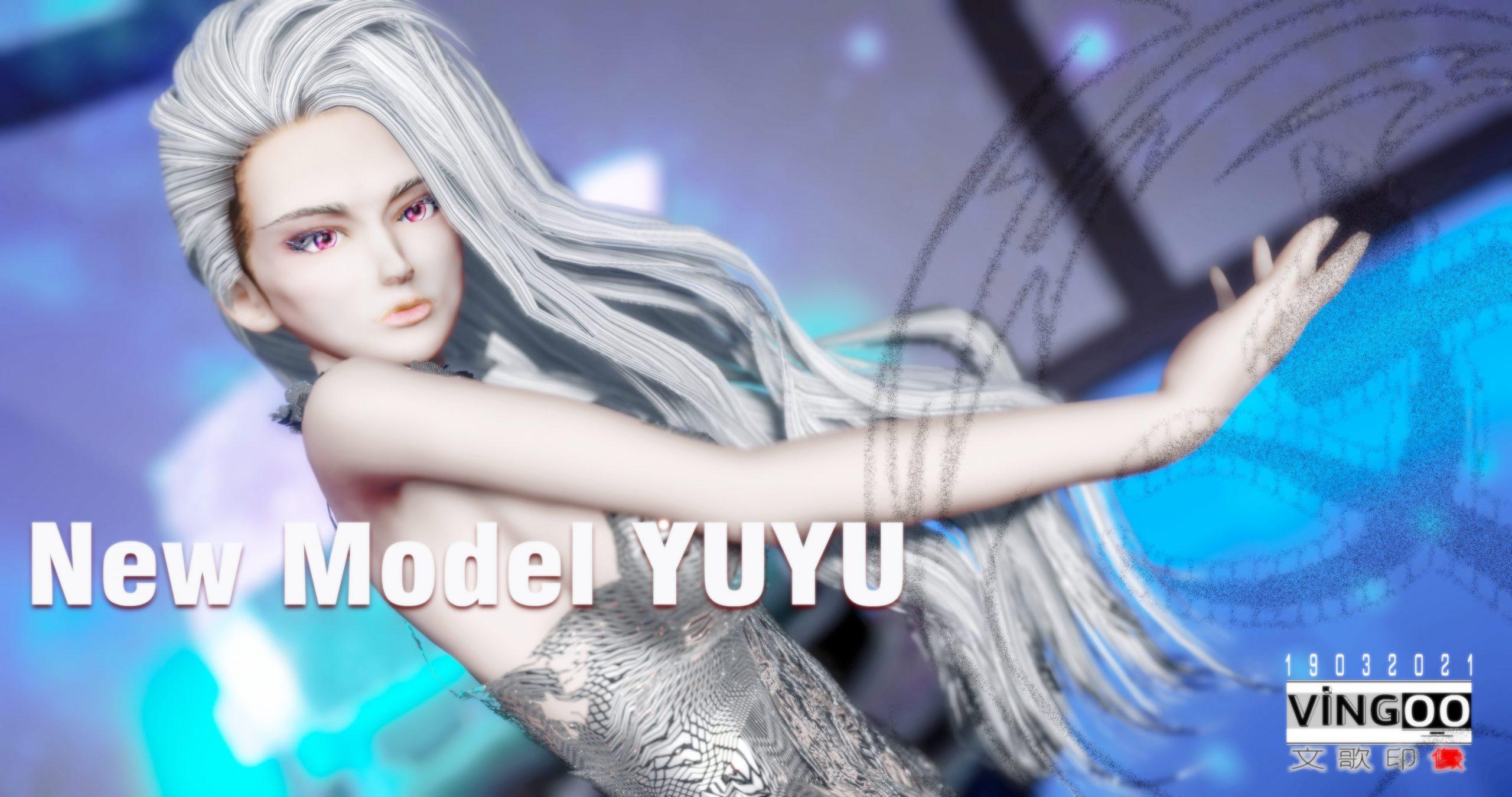 新模型yuyu大姐开启成型之路